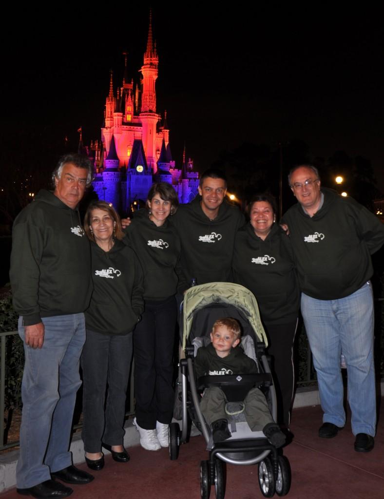 Aniversário na Disney: toda família