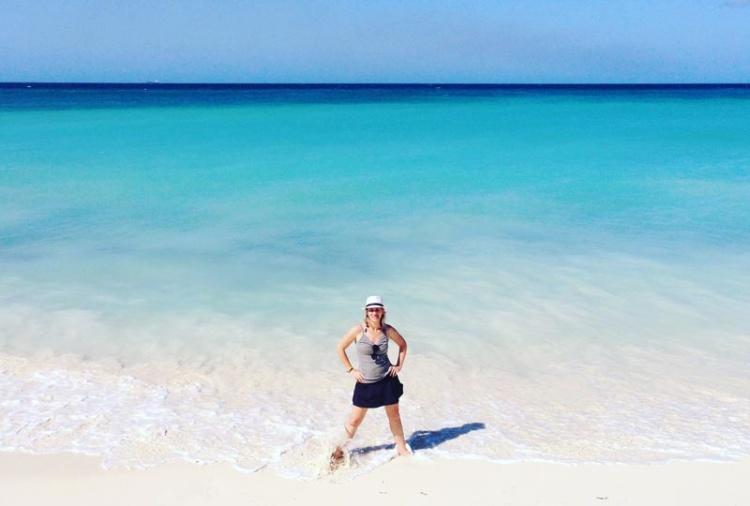 Ferias: mar de Oranjestad em Aruba