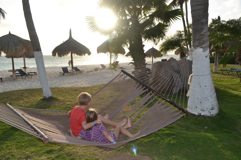 Férias: Pôr do Sol em Aruba