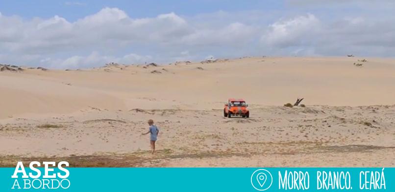 Morro Branco com crianças | Ceará