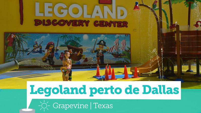 Dallas com Crianças: Legoland Discovery Center em Grapevine