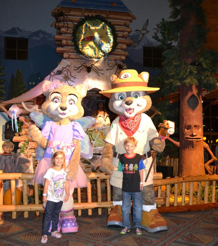 Hotel com Parque Aquatico encontro com os mascotes