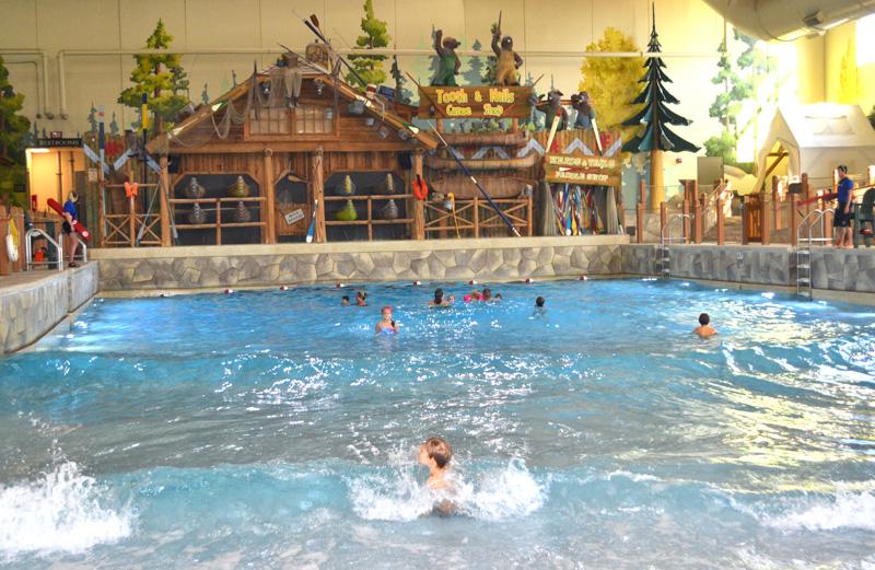 Hotel com Parque Aquatico piscina de ondas