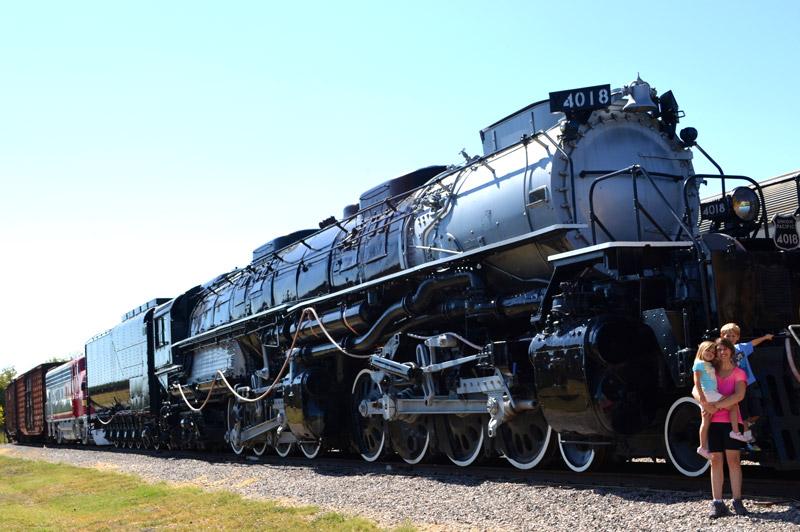 Frisco com Crianças: Museum of the American Railroad