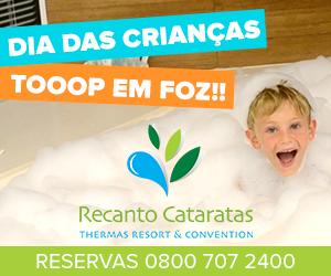 Dia das Crianças Recanto Cataratas Thermas Resort