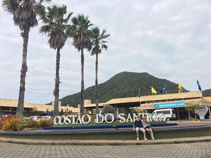 Day Use no Costão do Santinho: entrada do resort
