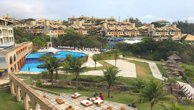 Day Use no Costão: Vista do Resort