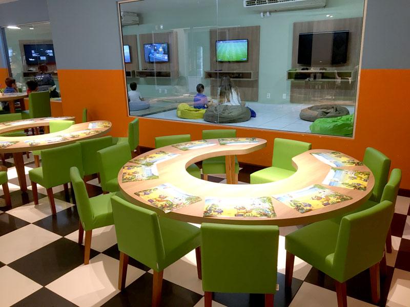 Day Use no Costão do Santinho: restaurante infantil