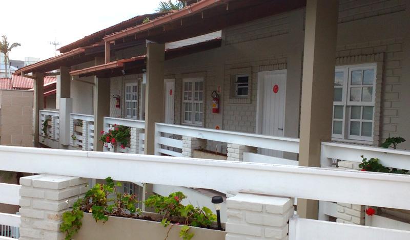 Onde ficar na Praia dos Ingleses? Hotel Geranius - Andar superior