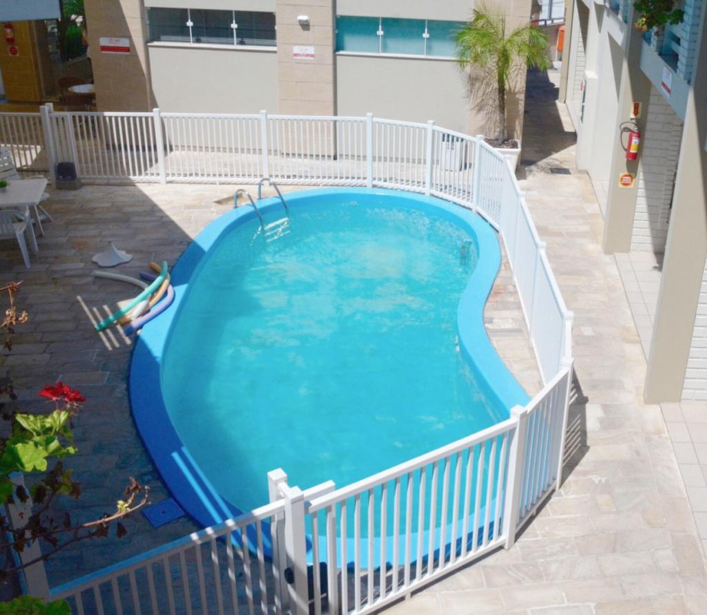 Onde ficar na Praia dos Ingleses? Hotel Geranius - piscina