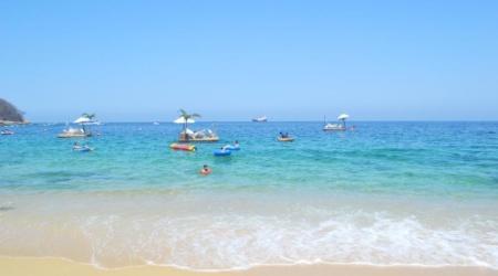 Puerto Vallarta com Crianças: praia Las Caletas