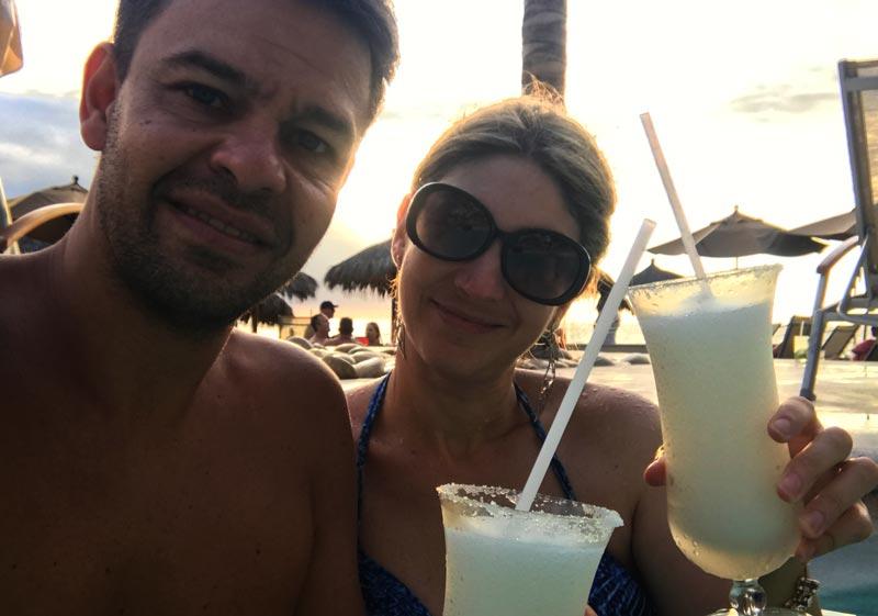 Onde ficar em Puerto Vallarta: Drinks no Now Amber