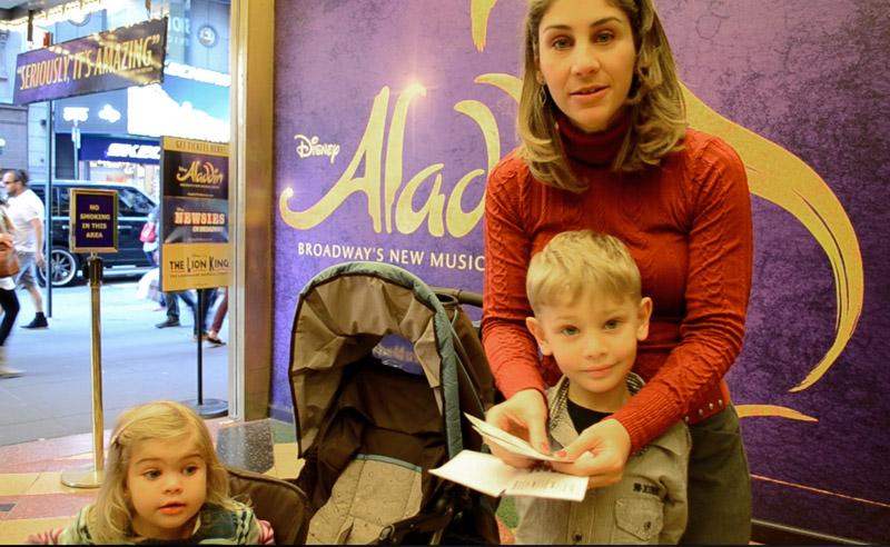 Melhores shows em Nova York para crianças: Ases com ingressos nas mãos