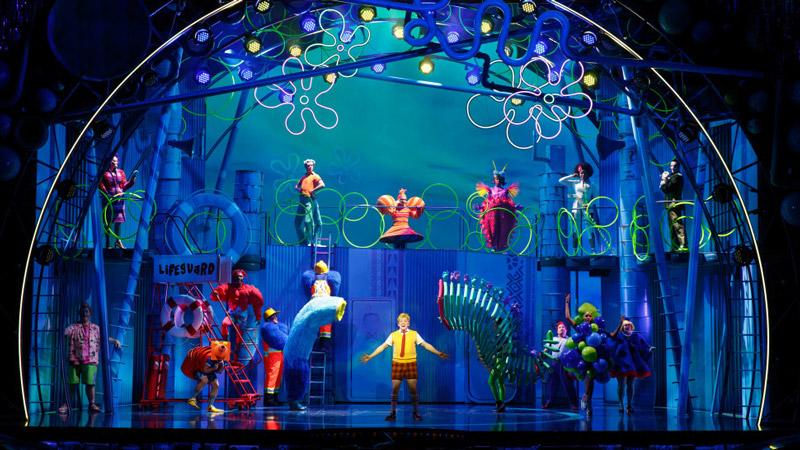 Melhores shows em Nova York para crianças: Bob Esponja