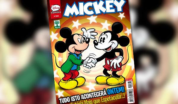 90 anos do Mickey: Gibi