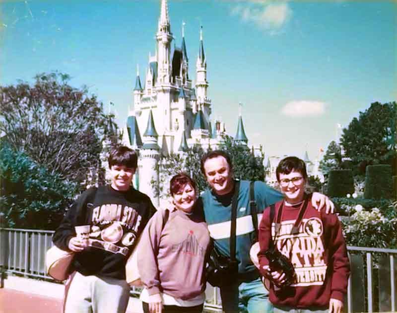 90 Anos do Mickey - Familia Strauss