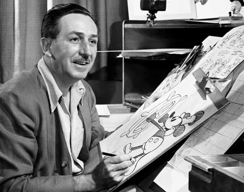 90 anos Mickey: Walt Disney