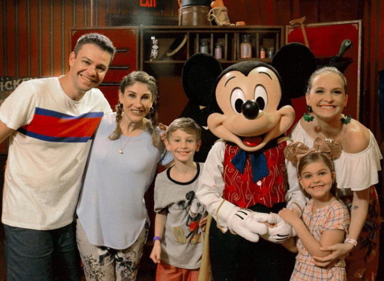 Fazendo a Festa na Disney