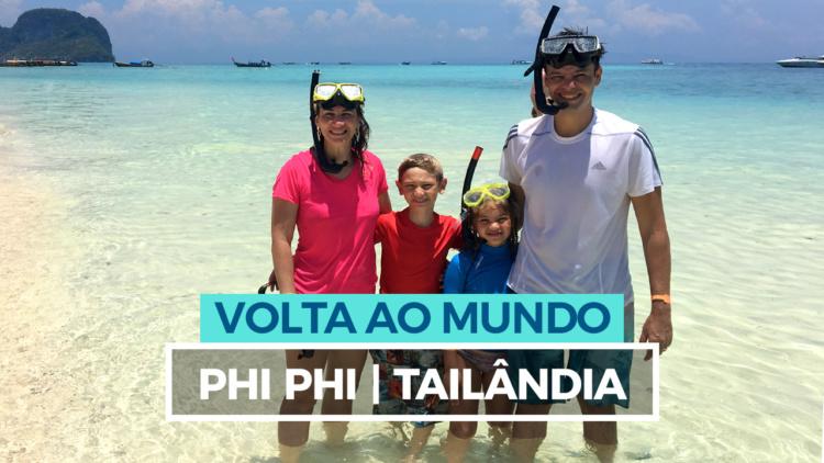 Phi Phi com Crianças