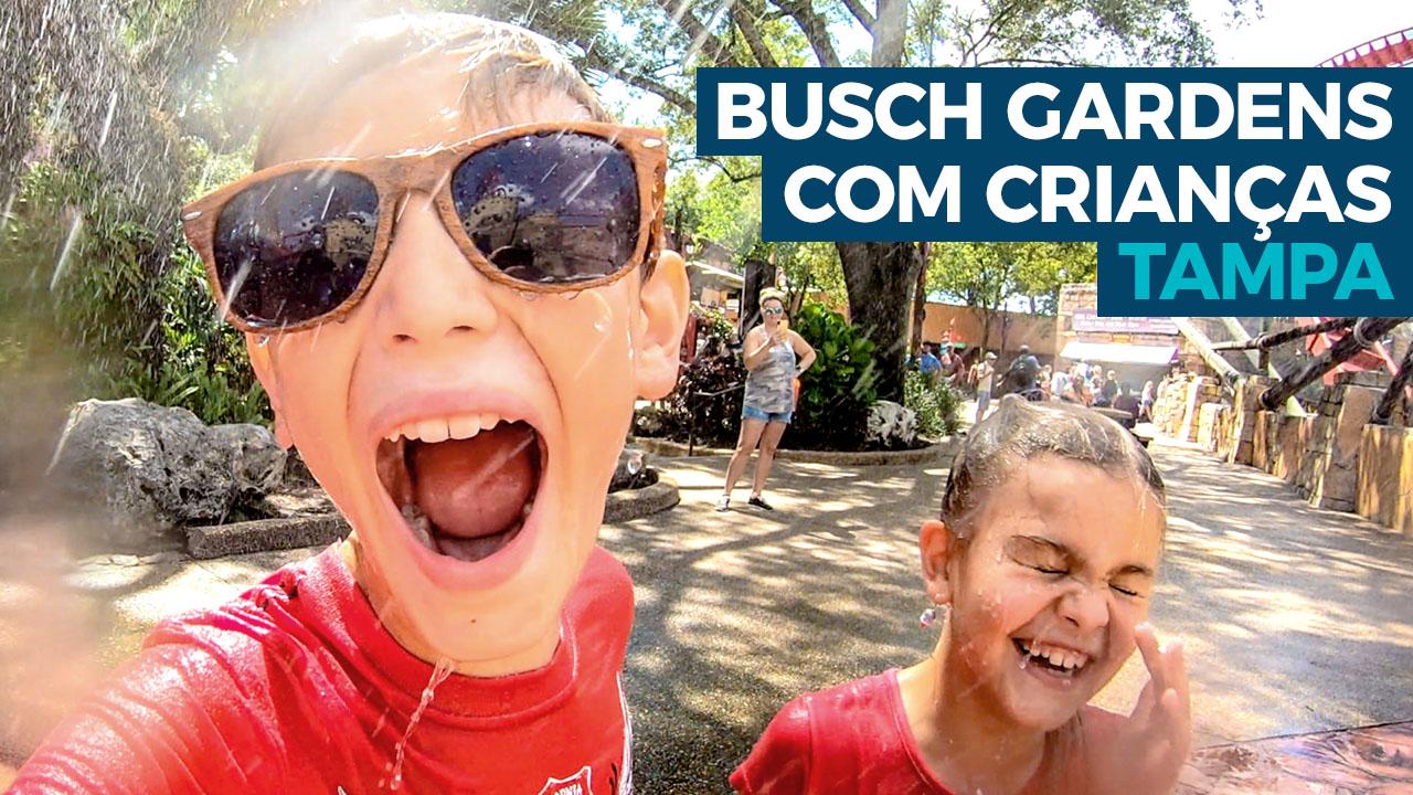 Busch Gardens com Crianças
